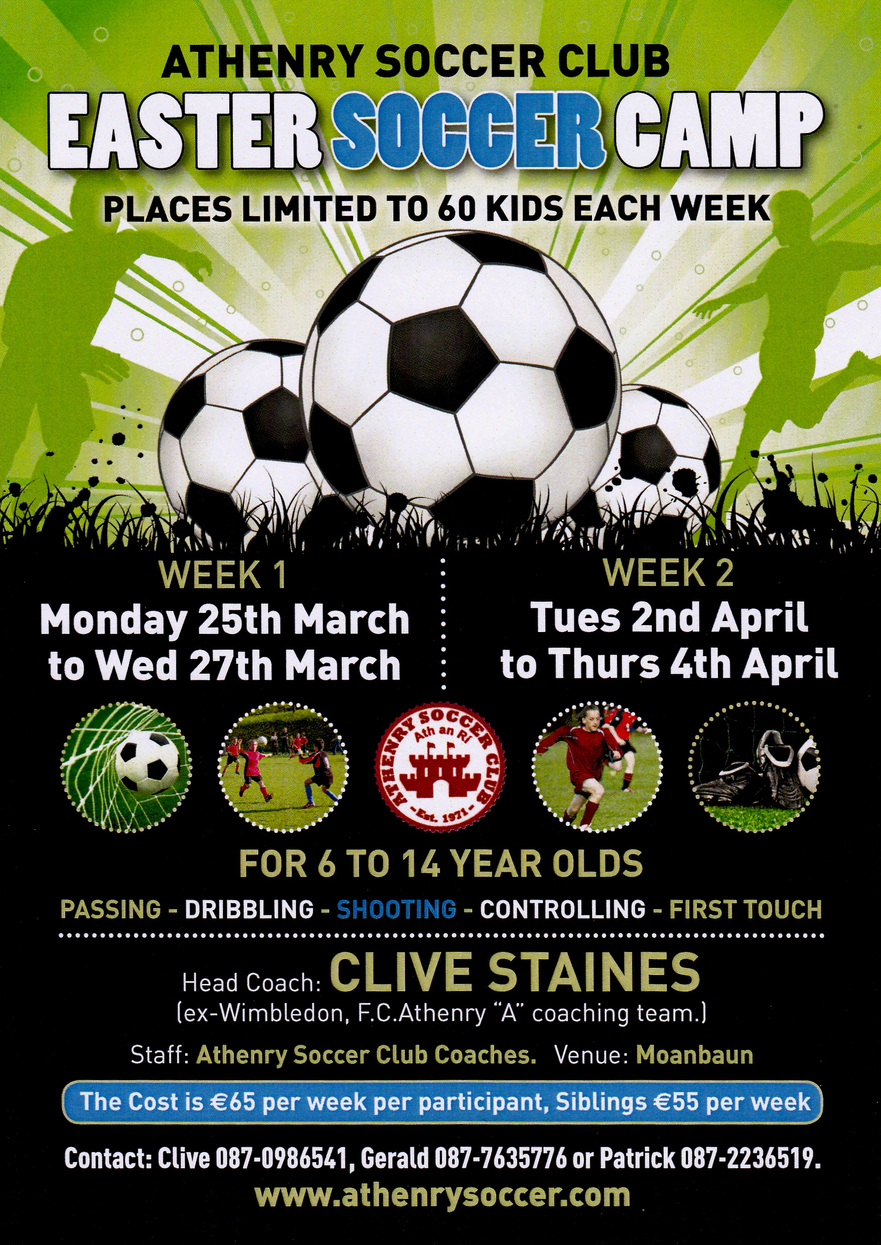 ATHENRY EASTER SOCCER CAMP 